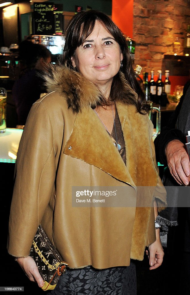 Alexandra Shulman attends Tricycle Theatre's 'Red Velvet: The Director's Party' on November 22, 2012 in London, England.