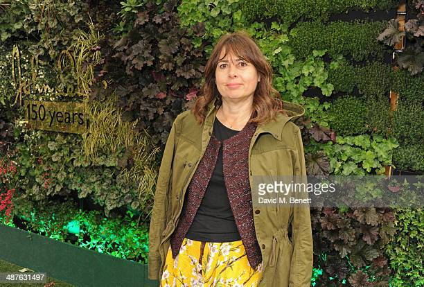 Alexandra Shulman enjoys some of the best views of London at the preview party of the new roof garden at John Lewis Oxford Street on May 1 2014 in...