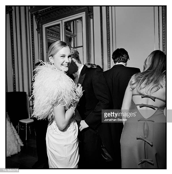 Alexandra Spencer is photographed at the Crillon Debutante Ball for Vanity Fair Magazine on November 26 2011 in Paris France PUBLISHED IMAGE