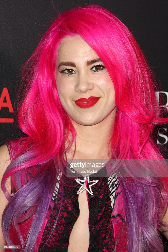 Alexandra Starlight attends the 'L.A.Frock Stars' Los Angeles screening and party held at the LACMA on March 5, 2013 in Los Angeles, California.