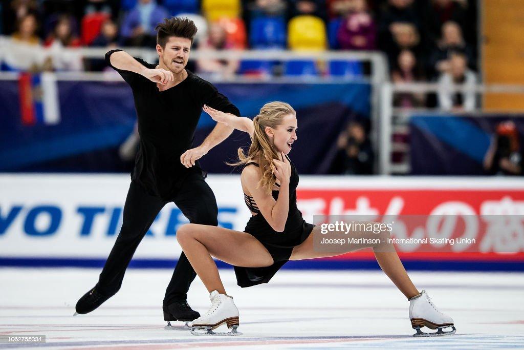ISU Grand Prix of Figure Skating Rostelecom Cup : News Photo