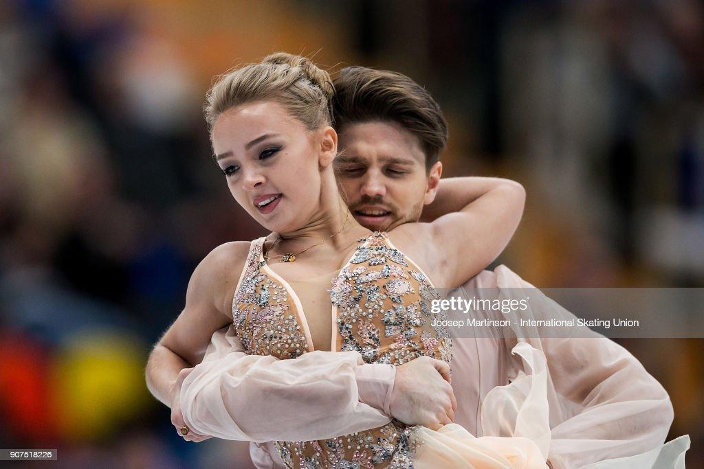 European Figure Skating Championships - Moscow : News Photo