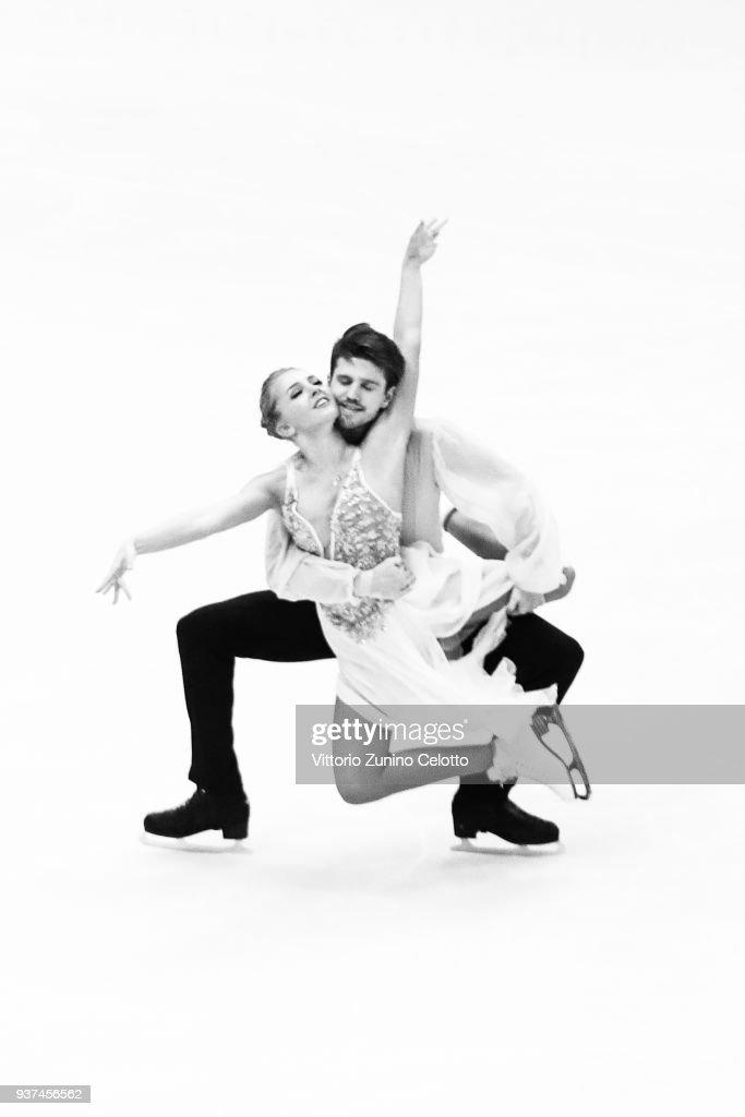 World Figure Skating Championships in Milano - Alternative Views Black & White : News Photo