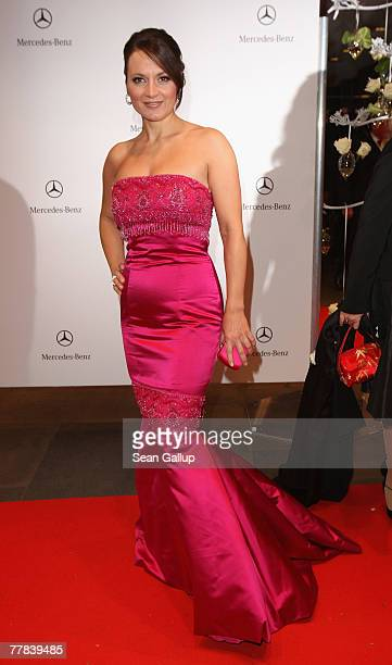 Alexandra Stich attends the 14th AIDS Gala at the Deutsche Oper November 10 2007 in Berlin Germany