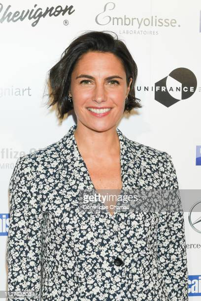 Alexandra Sublet attends the 26th Trophees Du Film Francais Photocall at Palais Brongniart on February 05 2019 in Paris France