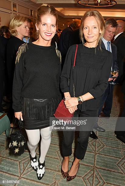 Alexandra Tolstoy and Martha Ward attend the launch of Fortnum Mason The Cook Book by Tom Parker Bowles at Fortnum Mason on October 18 2016 in London...