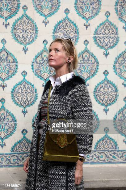 Alexandra Tolstoy attends to Hagia Sophia tour on November 01 2019 in Istanbul Turkey
