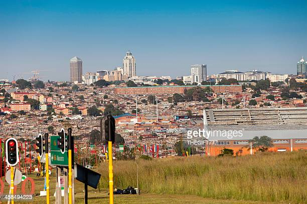alexandra township and sandton - alexandra township stock pictures, royalty-free photos & images