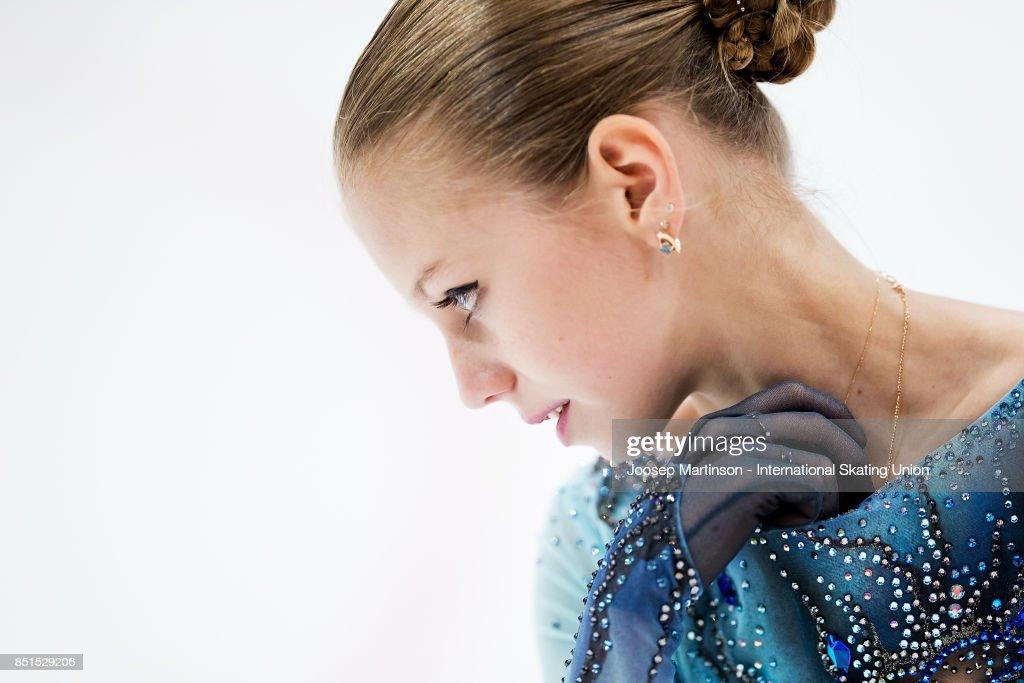 ISU Junior Grand Prix of Figure Skating - Minsk : ニュース写真