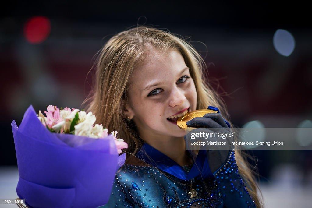 World Junior Figure Skating Championships - Sofia : ニュース写真
