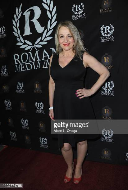 Alexandra Valassis arrives for Roman Media's 5th Annual Hollywood Event A Celebration of Women and Diversity in Film held at St Felix on February 18...