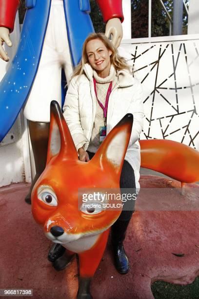 Alexandra Vandernoot attends the 25th Futuroscope's Birthday in Poitiers France on December 17 2011