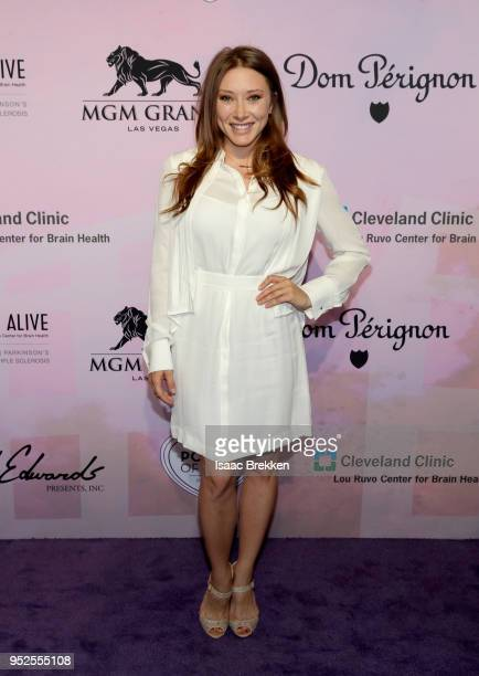 Alexandra Vino attends the 22nd annual Keep Memory Alive 'Power of Love Gala' benefit for the Cleveland Clinic Lou Ruvo Center for Brain Health at...
