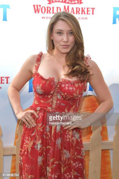 Alexandra Vino attends the premiere of Columbia Pictures' 'Peter Rabbit' at The Grove on February 3 2018 in Los Angeles California