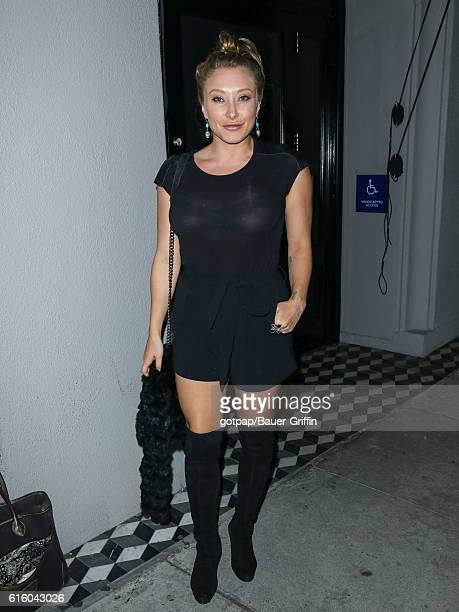 Alexandra Vino is seen on October 20 2016 in Los Angeles California