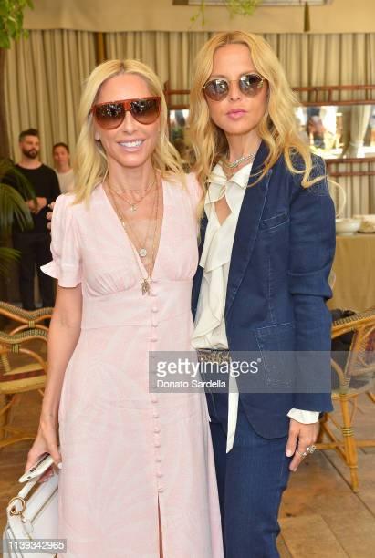 Alexandra von Fürstenberg and Rachel Zoe join Talita von Furstenberg in celebrating her first collection for DVF at Chateau Marmont's Bar Marmont on...
