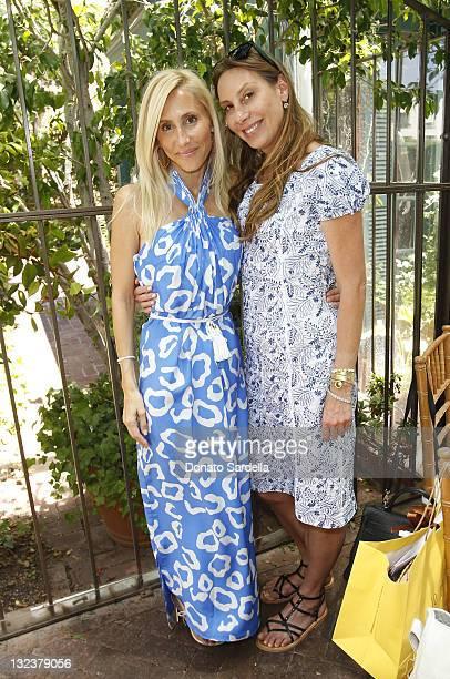 Alexandra Von Furstenberg and Jacqui Getty attends Jo De Mer Lunch Hosted By Alexandra von Furstenberg at Il Cielo on June 30, 2011 in Beverly Hills,...