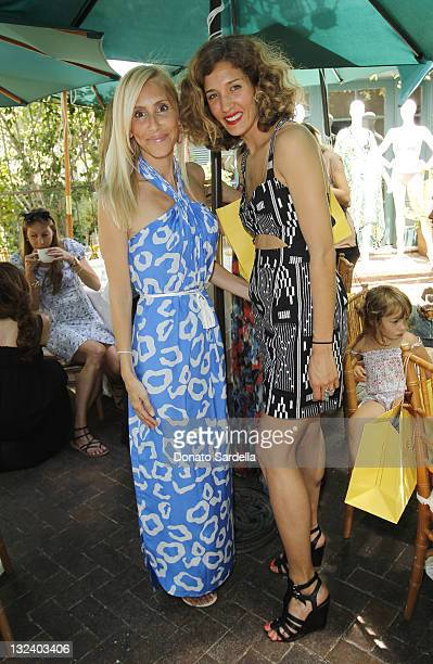 Alexandra Von Furstenberg and Leah Forester attend Jo De Mer Lunch Hosted By Alexandra von Furstenberg at Il Cielo on June 30, 2011 in Beverly Hills,...