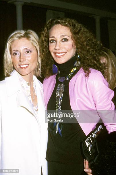 Alexandra Von Furstenberg and Marisa Berenson during Diane Von Furstenberg Fashion Show at Diane Von Furstenberg Studio in New York City New York...