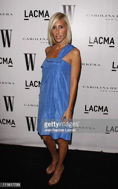 Alexandra von Furstenberg arrives to the Inaugural AvantGarde Gala hosted by W Magazine LACMA held at LACMA BCAM on March 8 2008 in Los Angeles...