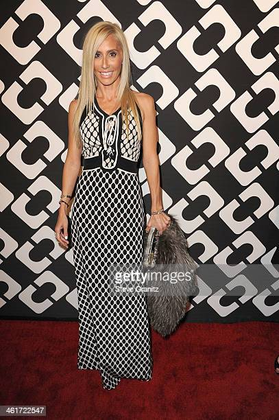 Alexandra von Furstenberg attends Diane Von Furstenberg's Journey Of A Dress Premiere Opening Party at Wilshire May Company Building on January 10...