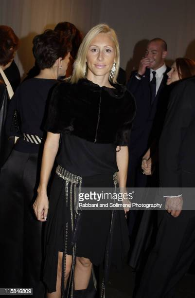 Alexandra von Furstenberg during Whitney Gala at the Whitney Museum October 21 2002 at Whitney Museum in New York CIty New York United States