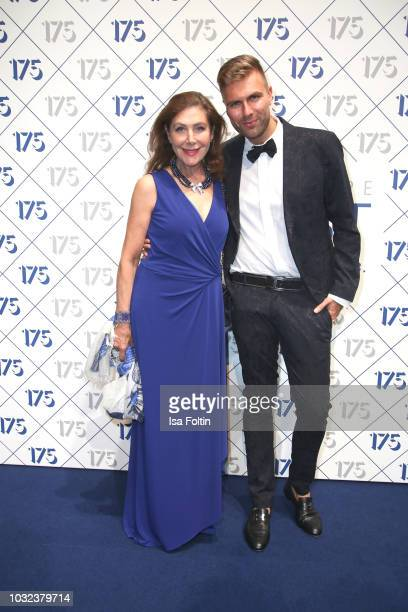 Alexandra von Rehlingen and Andre Borchers during the 175th anniversary celebration of Klambt publishing house on September 12 2018 in Hamburg Germany