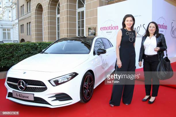Alexandra von Rehlingen and guest during the Emotion Award at Curio Haus on June 28 2018 in Hamburg Germany
