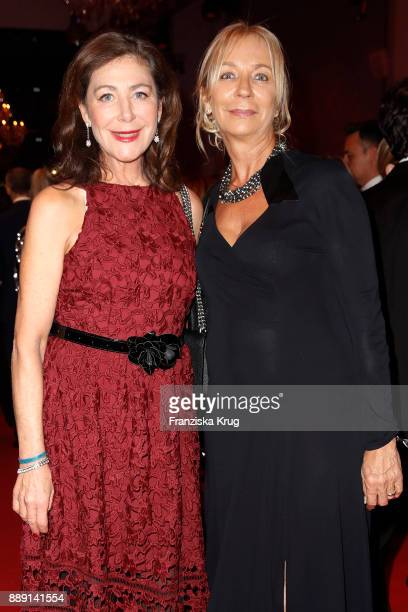 Alexandra von Rehlingen and Kirsten Kuhnert attend the Ein Herz Fuer Kinder Gala reception at Studio Berlin Adlershof on December 9 2017 in Berlin...