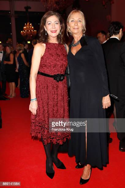 Alexandra von Rehlingen and Kirsten Kuhnert attend the Ein Herz Fuer Kinder Gala reception at Studio Berlin Adlershof on December 9 2017 in Berlin...