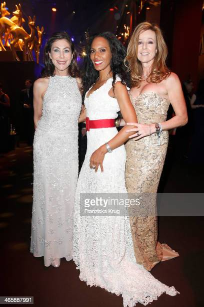 Alexandra von Rehlingen Barbara Becker and Andrea Schoeller attend the Bambi Awards 2013 at Stage Theater on November 14 2013 in Berlin Germany