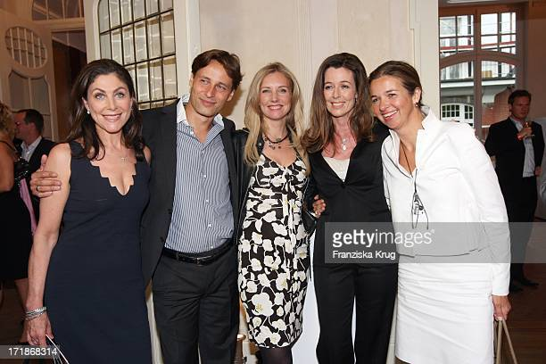 Alexandra Von Rehlingen Christian Michelsen With wife Jette Joop Andrea Schoeller And Inga GrieseSchwenkow In the occasion of celebration 20 years...