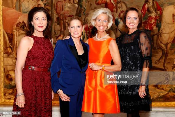 Alexandra von Rehlingen Cornelia Poletto Kristina Troeger and Anita FreitagMeyer during the 'Die Europa' award to women entrepreneurs hosted by the...