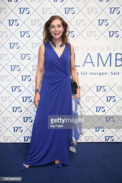 Alexandra von Rehlingen during the 175th anniversary celebration of Klambt publishing house on September 12 2018 in Hamburg Germany