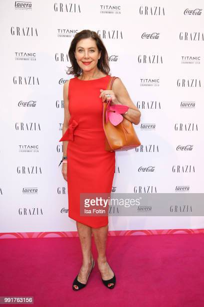 Alexandra von Rehlingen during the Grazia Pink Hour at Titanic Hotel on July 4 2018 in Berlin Germany