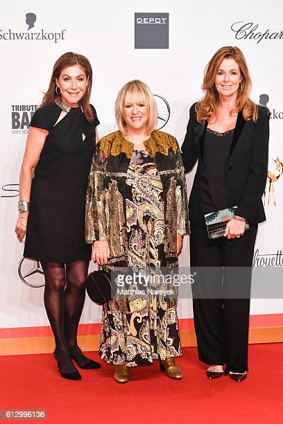 Alexandra von Rehlingen Patricia Riekel and Andrea Schoeller attend the Tribute To Bambi at Station on October 6 2016 in Berlin Germany