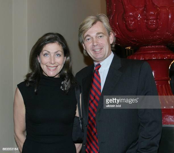 Alexandra von Rehlingen und Ehemann Matthias Prinz bei der Eröffnungsparty des Hotel de Rome in Berlin