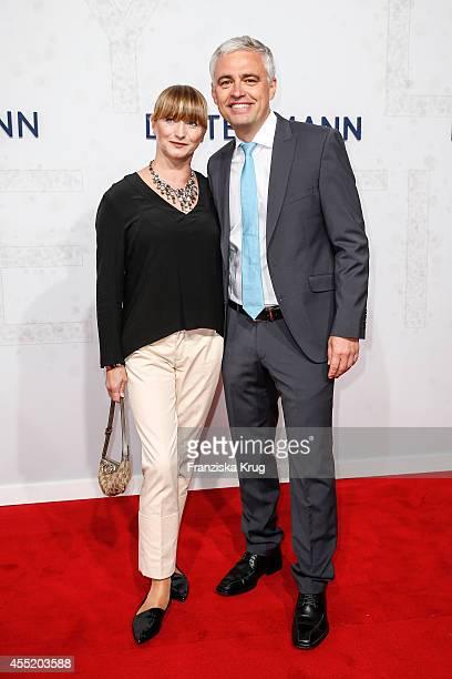 Alexandra von Thien and Andreas von Thien attend the Bertelsmann Summer Party at the Bertelsmann representative office on September 10 2014 in Berlin...