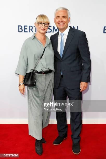 Alexandra von Thien and her husband Andreas von Thien attend the Bertelsmann Summer Party at Bertelsmann Repraesentanz on September 6 2018 in Berlin...