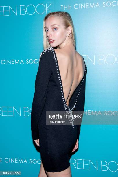 Alexandra Waterbury attends the Green Book New York Special Screening hosted by the Cinema Society at The Roxy Hotel Cinema on November 14 2018 in...