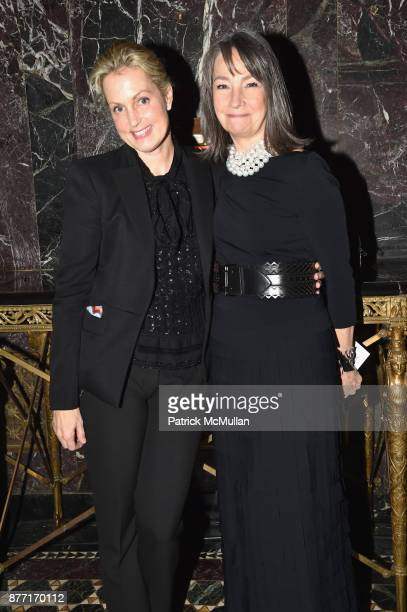 Alexandra Wentworth and Brooke Garber Neidich attend the Child Mind Institute 2017 Child Advocacy Award Dinner at Cipriani 42nd Street on November...
