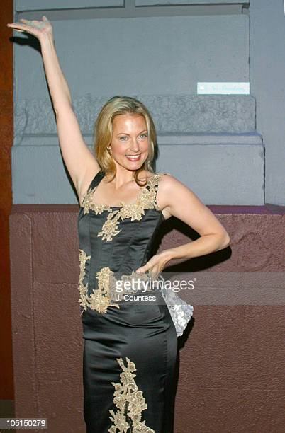 Alexandra Wentworth during Living It Up With Ali and Jack Launch Party at Plaid in New York City New York United States