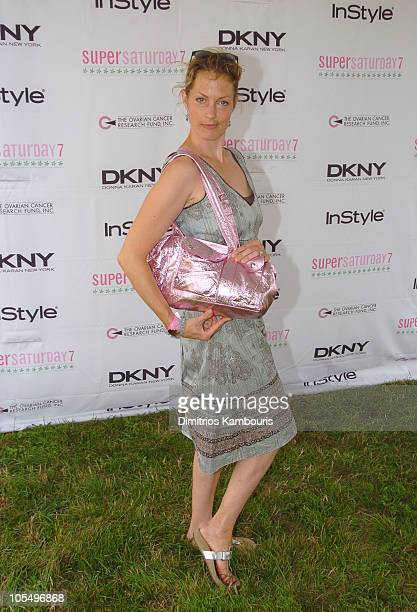 Alexandra Wentworth during Super Saturday 7 Benefitting The Ovarian Cancer Research Fund at Nova's Ark Project in Water Mill New York United States