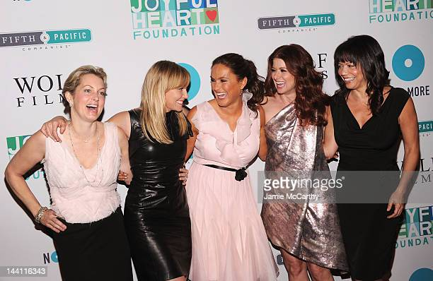 Alexandra Wentworth Kelli Giddish Mariska Hargitay Debra Messing and Gloria Reuben attend Joyful Heart Foundation Presents The 5th Annual Joyful...