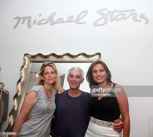 Alexandra Wentworth Stephanopoulos Michael Stars founder Michael Cohen and Mariska Hargitay attend a cocktail party to celebrate the opening of...