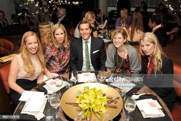 Alexandra Wilkis Wilson Kate Dimmock Christian Leone Kristina O'Neill and Alexis Maybank attend GILT GROUPE One Year Anniversary Dinner Party at...