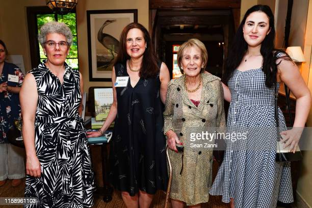 Alexandra Wolfe Andrea Hart Roz Fischell and Emelie Latzer attend A Country House Gathering To Benefit Preservation Long Island on June 28 2019 in...