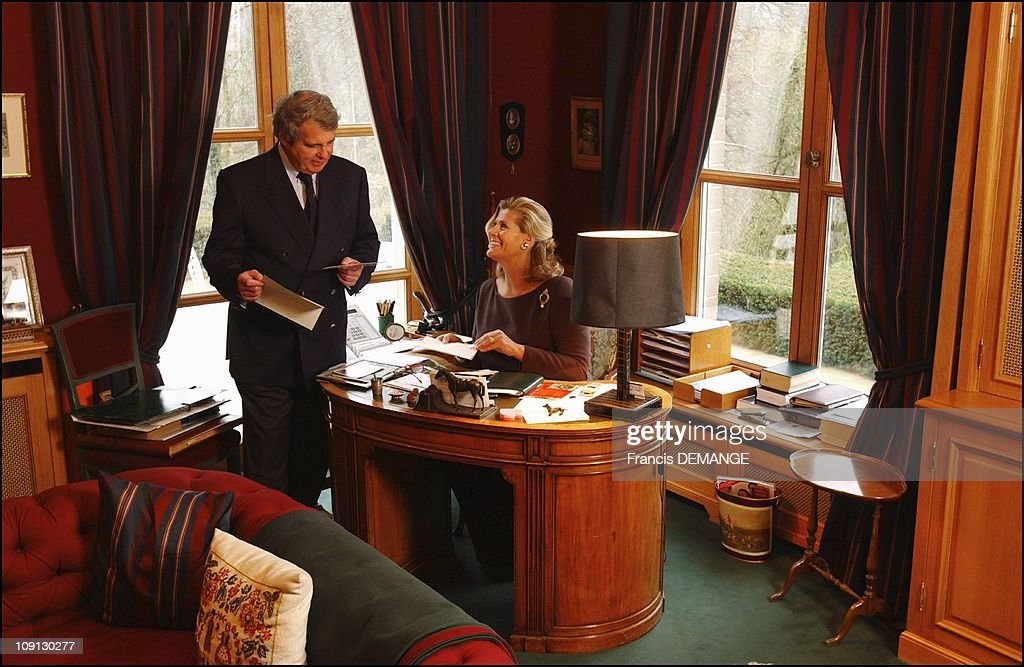 Alexandre And Lea Of Belgium At Home Near Brussels. On December 16, 2004 In Brussels, Belgium : News Photo