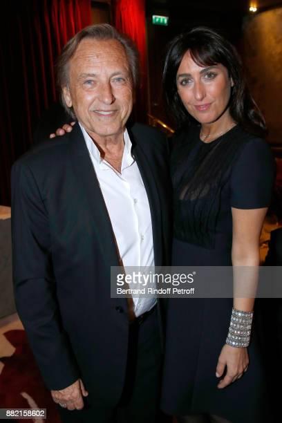 Alexandre Arcady and Sabrina Guigui attend the Charity Gala to Benefit the 'Princess Diya Kumari of Jaipur' Foundation Held at Plaza Athenee Hotel on...