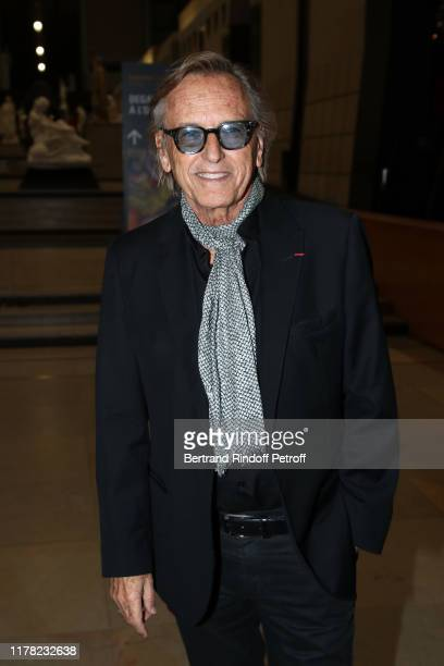 """Alexandre Arcady attends the """"Societe Des Amis Du Musee D'Orsay"""" Dinner Party Hosted By Countess Jacqueline De Ribes on September 30, 2019 in Paris,..."""